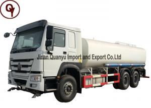 China Sinotruk HOWO 371HP Water Heavy Petrol Tanker Truck 6X4 Driving Type on sale