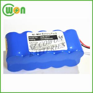 China bateria de 12V 3000mAh para a bateria do desfibrilador de Nihon Kohden NKB-301v on sale