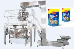 China Fully Automated Food Packaging Machine Rotary Premade / Doypack Packaging Machine on sale