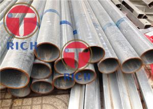 China TORICH  Hot Dip Galvanized Welded Steel Tube  Round Shape For Construction Structure on sale