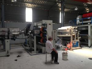 China Escoja/cadena de producción del doble ACP, cadena de producción de aluminio del tablero velocidad on sale