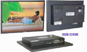 China 480P PAL anti shock 60HZ Cr input HSIM - 2209 M Combfilter 22'' Professional CCTV Monitor on sale