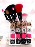 2017 fashion wholesale acrylic cosmetic makeup organizer