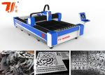 Industrial Metal Laser Cutting Machine For Aluminium , Fiber Laser Cutter