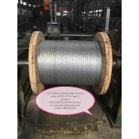 "1/4"",5/16"",3/8"",1/2"" Galvanized  Steel Wire Strand as per ASTM A 475"