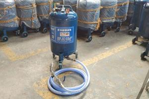 China Vertical Industrial Spray Painting Machine For Dry Powder Mortar Spraying on sale