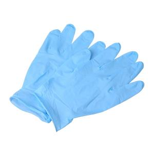 China Safety Examination L XL Disposable Nitrile Gloves Powder Free on sale