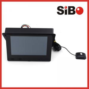 China Taxi Back Seat Advertising Headrest Monitorwith CMS (Centralized Management System) on sale