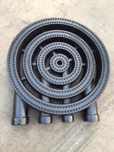 China Cast-Iron Big 4 Rings Burner Cast Iron Stove Diamter 400 mm  paniting surface on sale