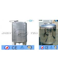 China Metal Water Fuel Diesel Milk Storage Tanks Aluminum Pressure Vessel on sale