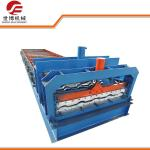 China Slanting Circular Glazed Tile Making Machine 1080 Model Steel Plate Rolling Machine wholesale