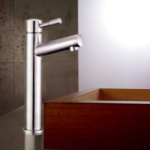 China Lead Free 304 Stainless Steel Bathroom Lavatory Faucet on sale