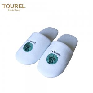China Custom Made Disposable Guest Slipper Closed Toe Four Season Use on sale
