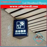 China Wall Mounted Acrylic LED Directory Sign Board on sale