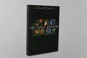 China Free DHL Shipping@HOT Classic Blu-Ray DVD Movie Wholesale Star War:The Force Awakens on sale