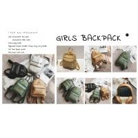 ECO-Friendly washable kraft paper backpack