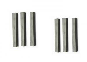 China Widia Cemented Tungsten Carbide Flat Square Strips Bars for Conveyor Belt Scrapers on sale
