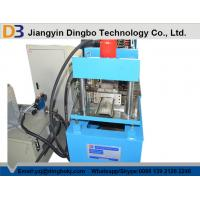 China Automatic Roller Shutter Slates Steel Door Roll Forming Machine 7.5kw on sale