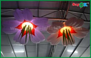 China Wedding Stage Inflatable Lighting Decoration Led Wedding Inflatable Flower on sale