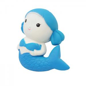 China The Mermaid Suqishy Slow Rising Toys Soft And Squishy Toys Animals PU Rebound Toy on sale