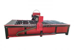 China Industrial Cnc Metal Cutting Machine  , 4 X 8 Small Cnc Plasma Cutter Start Control System on sale