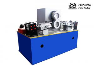China Coil Sheet Rolling Rotary Punching Machine Gear Drive With Servo Feeder on sale