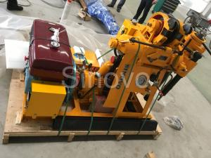 China Small Sinovo Spindle Core Drilling Rig For Soil Investigation on sale
