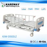 Detachable Remote Control Electric Hospital Bed , Home Care Beds With Central Locking Casters