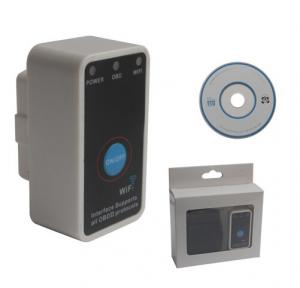 China Mini ELM327 WiFi with Switch Work with iPhone OBD-II OBD Can Code Reader Tool on sale