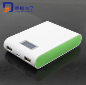 China Dual USB Portable External Extended Battery Pack Power Bank Backup Charger on sale