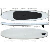 330cm Extra Light Inflatable Standup Paddleboard 15lbs 5 Thickness For Yoga On A Water