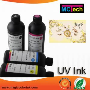 China Top quality LED UV ink for Epson printhead 500ml UV Curable Inkjet Marking Ink on sale