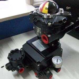YT-1200R Smart Valve Positioner , 4-20MA Butterfly Valve Fisher