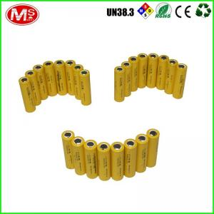 China Rechargeable Deep Cycle Battery Cells / LiFePO4 18650 Li Ion Battery 3.2V on sale