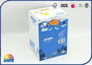 China Teddy Bear E Flute Corrugated Paper Box Glossy Lamination on sale