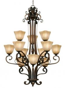 China American Style Simple Stylish Iron Art Hotel Project Long Stair Lights Chandeliers on sale