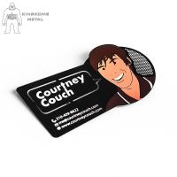 China Artigifts Stainless Steel Drink Coasters Matte Or Glossy  Finished Customer Design on sale