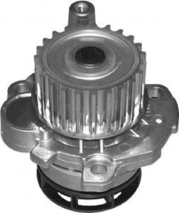 China High Performance P587 Auto Water Pump Replacement 23 Teeth 12V OEM 06F121011 on sale