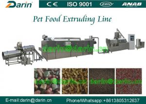 China Darin CE ISO Certified Dog Feed Extruder machine / processing Line on sale