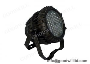 China Dimmer RGBW LED PAR 64 For Event  / Wedding Party , Led Par Lamps on sale