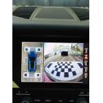 Câmera universal do carro HD DVR, laço do gravador de vídeo da condução de carro que gravam IP67 que inverte, estacionamento e condução
