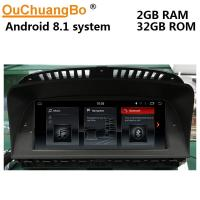 Ouchuangbo car audio gps 2GB of RAM android 8.1 for BMW E65 E66 (2003-2008) with SWC mirror link 3g function