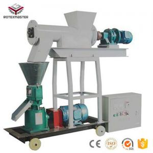 China Home use small capacity 300-500kg/h Animal Flat Die Pellet Making Machine on sale