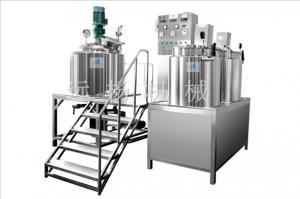 China Fixed vacuum homogenizing emulsifier on sale