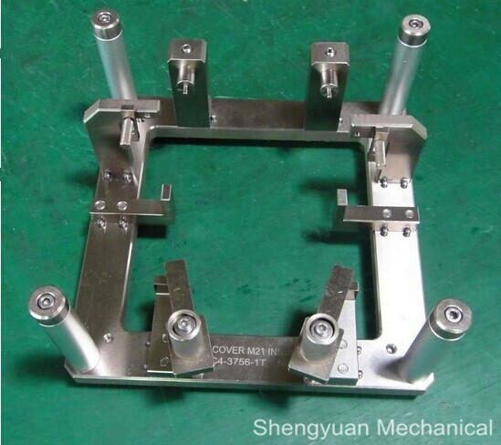 Machining Jigs And Fixtures : Cnc machining precision machined jig and fixture clamp oem