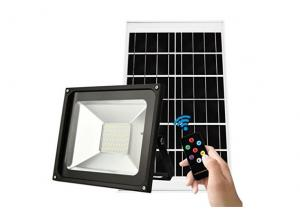 China Sensor Outdoor Security Solar LED Spotlight With Remote Control , 28x23cm Size on sale