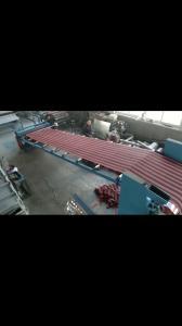 China Output 300 - 400kg/H Plastic Mat Weaving Machine , Floor Mat Machine Anti Static on sale