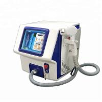China 808 Diode Laser Portable Laser Hair Removal Machine for Dark Skin on sale