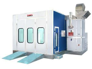 China Electric Car Spray Booth , 220V Large Vehicle Spray Painting Booths on sale