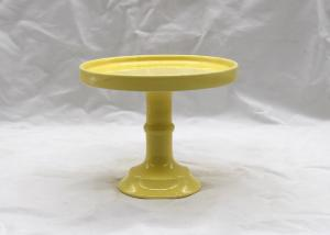 China Decorative Ceramic Cake Stand Dolomite Material For Dessert Food Server Display on sale